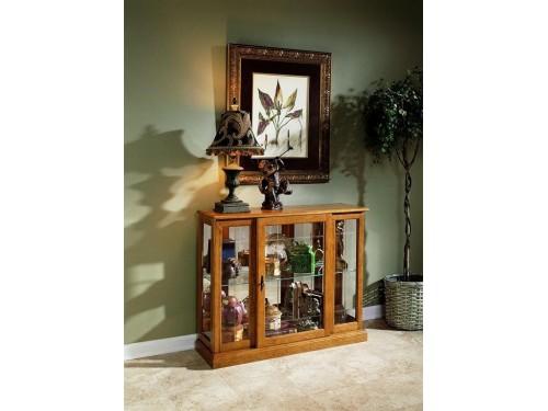 Golden Oak II Display Cabinet