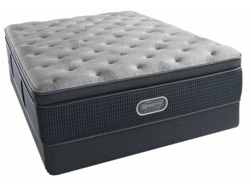 Beautyrest® Silver Charcoal Coast Luxury Firm Pillow Top Mattress