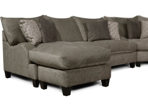 Catalina Sofa with Floating Ottoman Chaise Collection