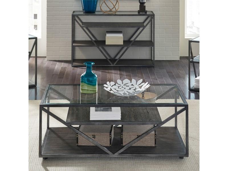 Arista Rectangular Cocktail Table