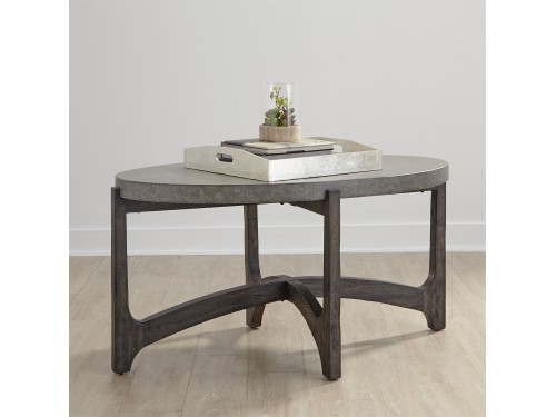 Cascade Oval Cocktail Table