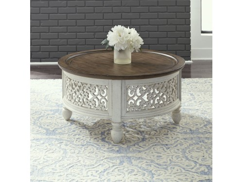 Parisian Marketplace Round Cocktail Table