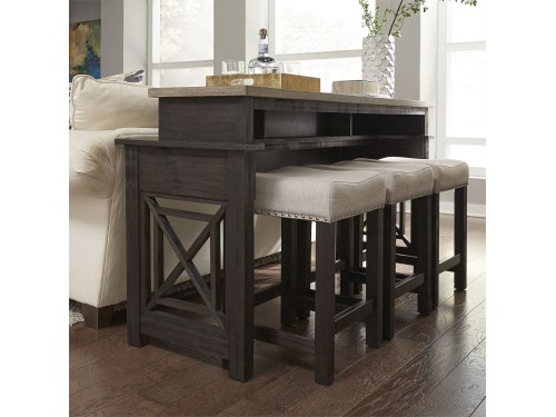 Heatherbrook Console Bar Table