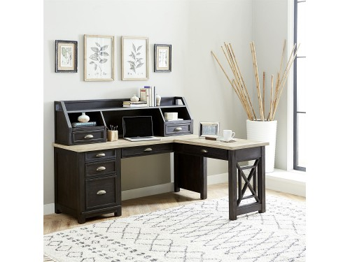 Heatherbrook L Shaped Desk