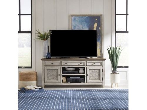 Heartland 66 Inch Tile TV Console