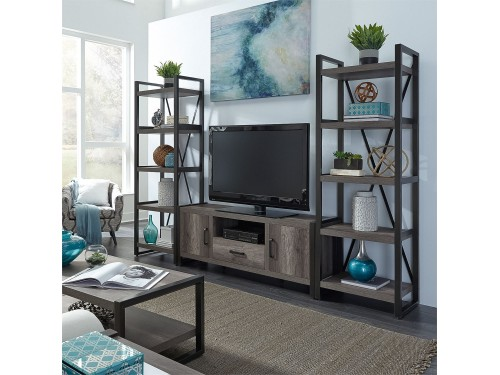 Tanners Creek Opt Entertainment Center w Piers