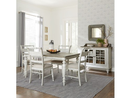 Whitney 5 Piece Rectangular Table Set