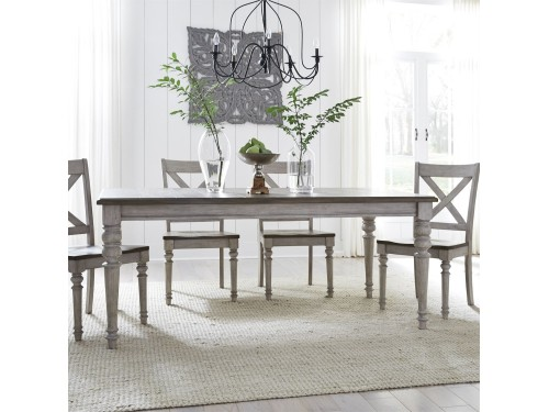 Cottage Lane 5 Piece Rectangular Table Set