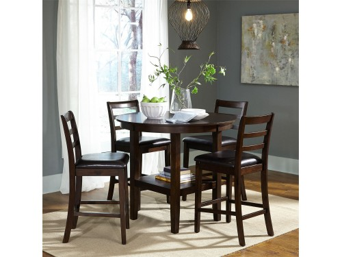 Hampton 5 Piece Pub Table Set