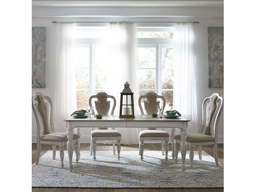Magnolia Manor 5 Piece Rectangular Table Set