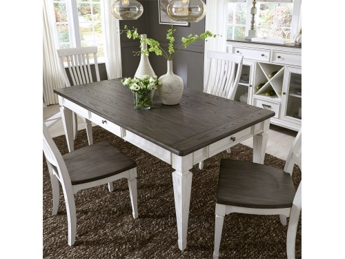 Allyson Park 5 Piece Rectangular Table Set