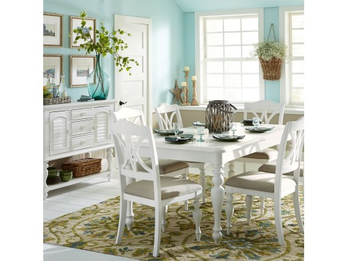 Summer House 5 Piece Rectangular Table Set