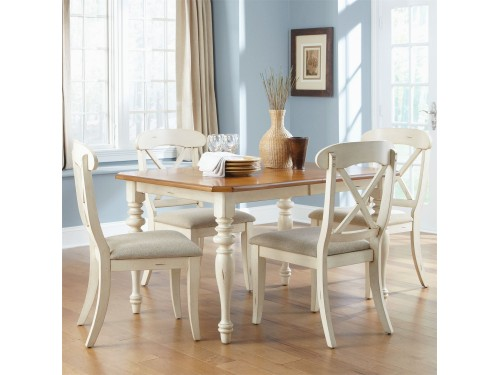 Ocean Isle 5 Piece Rectangular Table Set