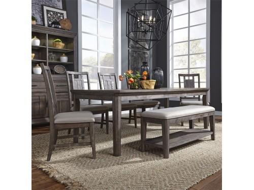 Artisan Prairie 6 Piece Rectangular Table Set