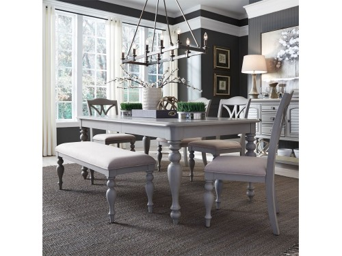 Summer House 6 Piece Rectangular Table Set
