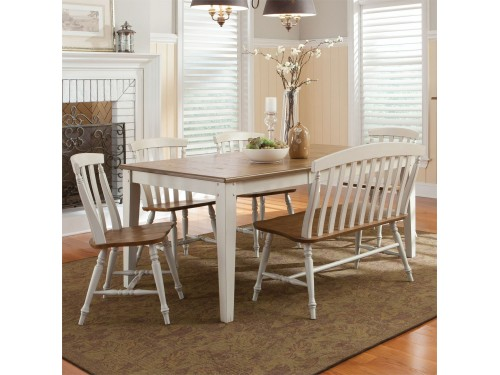 Al Fresco III 6 Piece Rectangular Table Set
